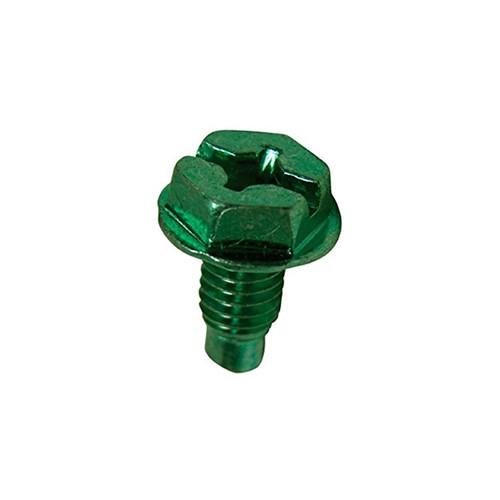 Green Grounding Screw, 100 ct box