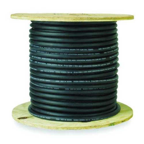 SJOW Cable - 16/3, 250 ft roll, Black