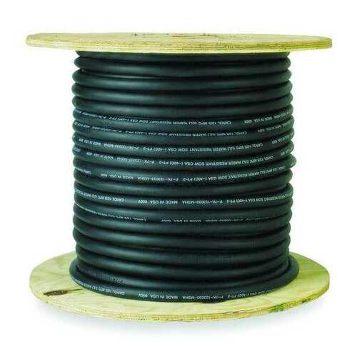 SJOW Cable - 18/3, 250 ft roll, Black