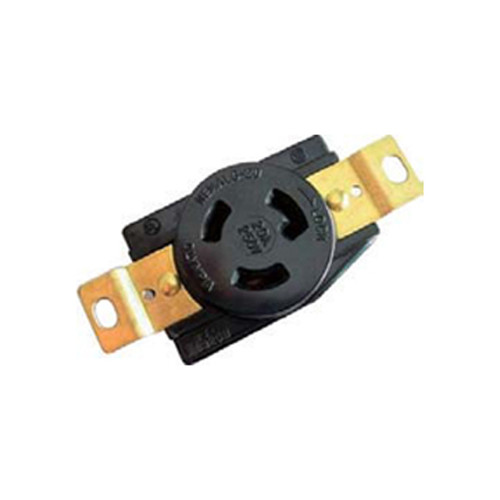(L6-20R) 20A-250V, 2-Pole 3-Wire Locking Receptacle