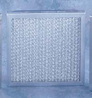 "Cleanroom Filters, Aluminum Mesh Filters, 10""x 17"" x 1""D by Cleanroom World"