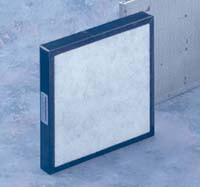 "Cleanroom Filters, Acid Gas Filters, 10.5""x 10.5""x 1.5"" by Cleanroom World"