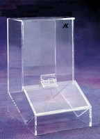 "Finger Cot Dispensers - Clear Acrylic   6""W x 11-1/4""H x 9""D  AK-901C   by Cleanroom World"