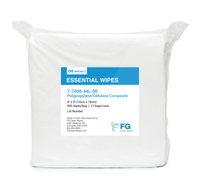 "Polypropylene Cleanroom Wipes, 4""x 4"" By Cleanroom World"