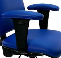 Upholstered Vinyl Arm Pads - Cleanroom/ESD, Gibo Kodama Chairs,  GK-TE