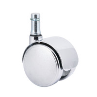 Chair Casters Braking, Cleanroom/ESD, Fits GK Chairs By Cleanroom World