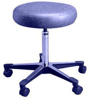 Lab Stools w/Backrest (Not Pictured), Beige by Cleanroom World