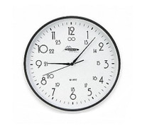 Clock, Battery Operated, 12 Inch Round By Cleanroom World
