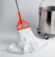 Cleanroom String Mop - MicroNova, Irradiated Polyester By Cleanroom World