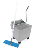Perfex Mop Bucket Systems, White by Cleanroom World