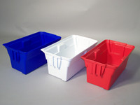 Waste Containment Buckets, Red by Cleanroom World
