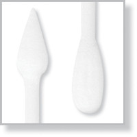 """Lab Swab, Double Cotton Tip, Point/Round, 3"""" Handle By Cleanroom World"""
