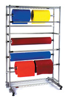 Chrome Roll Bag Dispensers by Cleanroom World