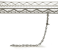 "ESD Drag Chain, Conductive Racks, 16"" Long By Cleanroom World"