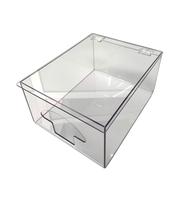 "Glove Dispensers - Single Compartment - Clear Acrylic   12""W x 7-3/4""H x 15""D AK-794-1C"
