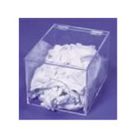"Acrlic Dispenser  - Glove Liner 9""W X 8""H X 12""D by Cleanroom World"