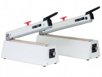 "Heat Sealers, Automatic Impulse Sealer, Table Top, Cutter, 9"" Seal Length  AV-235-SBM  by Cleanroom World"