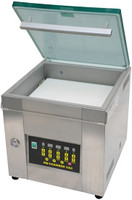 "Heat Sealers, Cleanroom Tabletop Vacuum Chamber Heat Sealer, Stainless Steel, Chamber Size: 17"" x 16.5"" x 6.7""  AV-CV151  by Cleanroom World"