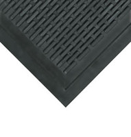 "Upfront Scrapper Entrance Mats, Black  36""x 60"" by Cleanroom World"