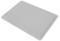 """Autoclavable Mats, Gray, 24""""x36"""" by Cleanroom World"""