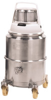 Nilfisk IV 1000CR Pharmaceutical Stainless Steel Vacuums with Safe-Pak, No Accessories by Cleanroom World