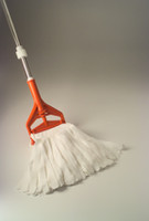 MicroNova Irradiated String Mops, Polyester, Support Area Mop by Cleanroom World