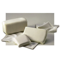 """Cleanroom Sponges, Polyester Over Sponge, 4""""x 6"""" x 1/2"""" By Cleanroom World"""