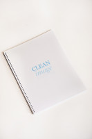 Cleanroom Notebooks, 8 1/2 x 11, White by Cleanroom World