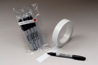 Sterile Cleanroom Pens, Irradiated, Black Sharpie by Cleanroom World