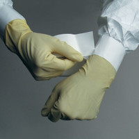"Sterile Cuff Sealers, Irradiated, Cleanroom, Perforated, 3""W x 18 Yards, 12 rolls/case  MN-CSLB-3WHIR  by Cleanroom World"