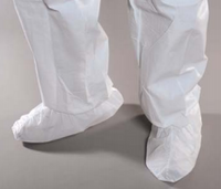 Cleanroom Shoe Covers, Extruded Polypropylene, MaxGrip Sole, Small, White, 100 pairs/case  AP-SH-E1W11-BH  by Cleanroom World