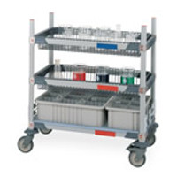 Cart Tote Kit - MetroMax Glassware Cart Totes by Cleanroom World