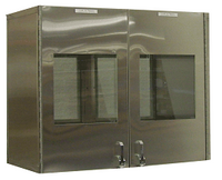 Double Door Pass Throughs, Special Sizes by Cleanroom World