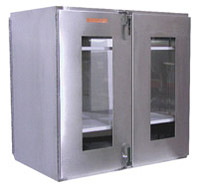 Double Door Pass Throughs 36x36x24D by Cleanroom World