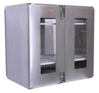 Double Door Pass Throughs 18x24x18 by Cleanroom World