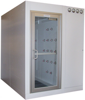 2 Tunnel Air Shower, Low Profile by Cleanroom World