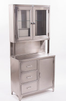 Stainless Steel Supply Cabinets, Upper/Lower Cabinets by Cleanroom World