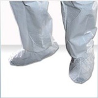 Cleanroom Shoe Covers, SafeStep, For Most Abrasive Floors, Medium, White, 100 pairs/case By Cleanroom World