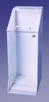 "Frock Dispensers, Single Compartment - Acrylic   11""W x 30""H x 15-1/2""D  AK-1484  by Cleanroom World"