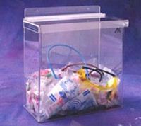 "Outdoor Acrylic Dispensers  11-3/4""W x 12-1/2""H x 6-1/2""D  AK-310  by Cleanroom World"