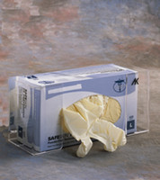 "Glove Dispensers, Single Boxed,  Acrylic 11-1/4""W x 5-1/2""H x 4-1/4""D  AK-784-1 by Cleanroom World"
