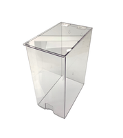 """Sterile Glove Dispensers, Clear Acrylic  7-5/8""""W x 16""""H x 12""""D  AK-792-C By Cleanroom World"""