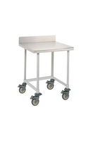 Mobile Lab Tables, Metro, Backsplash, 3-Sided Frame By Cleanroom World