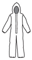 Chemical Suits  - Kappler Zytron 300 NFPA Certified Coverall by Cleanroom World