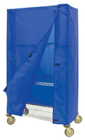 Nylon Cart Covers with Velcro Tabs by Cleanroom World