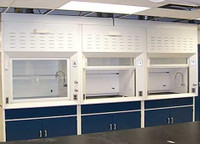 Chemical Fume Hoods, Lab Area by Cleanroom World