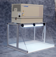 Horizontal Inflow Cabinet with LED Light by Cleanroom World