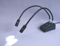 Portable Workstation Gooseneck Lights by Cleanroom World