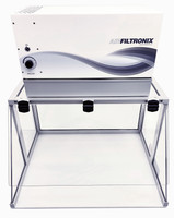 Filtered Air Workstations Table Top, Negative Pressure By Cleanroom World