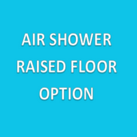Parts for Air Showers, Raised Floor Per Section of Air Shower By Cleanroom World